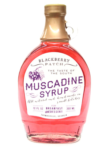 Blackberry Patch Muscadine Syrup