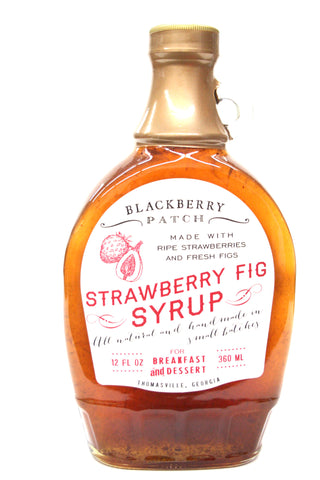 Blackberry Patch Strawberry Fig Syrup