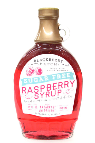 Blackberry Patch Sugar Free Raspberry Syrup