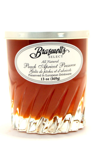 Braswell's Select Peach Apricot Preserve - Net Wt. 13 oz.