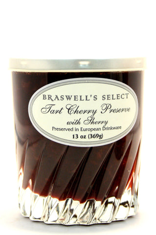 Braswell's Select Tart Cherry Preserve with SherryNet Wt. 13 oz.