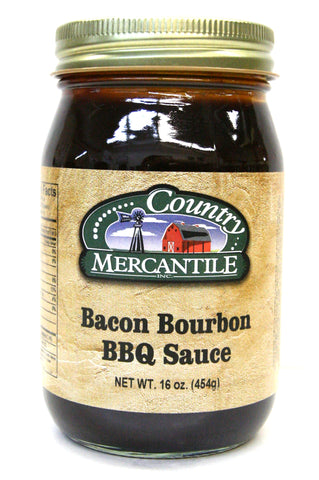 Country Mercantile Bacon Bourbon BBQ Sauce