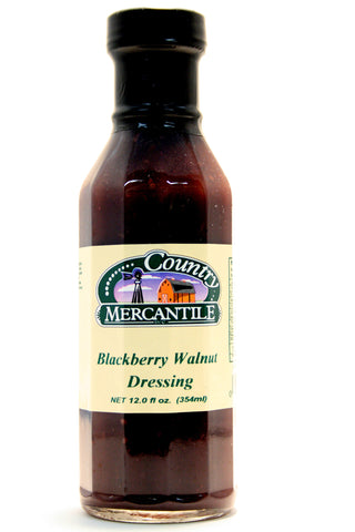 Country Mercantile Blackberry Walnut Dressing - Net Wt. 12 oz.