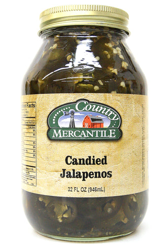 Country Mercantile Candied Jalapeños 32 oz