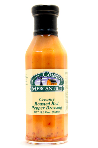 Country Mercantile Creamy Roasted Red Pepper Dressing - Net Wt. 12 oz.