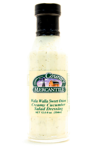 Country Mercantile Walla Walla Sweet Onion Creamy Cucumber Salad Dressing