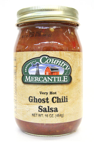 Country Mercantile Very Hot Ghost Chili Salsa