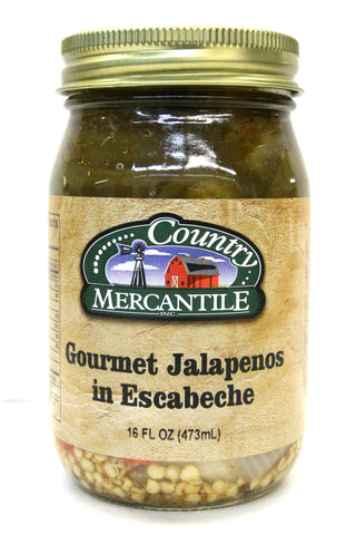 Country Mercantile Gourmet Jalapenos in Escabeche
