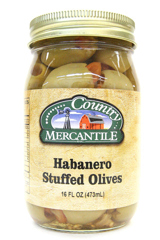 Country Mercantile Habanero Stuffed Olives