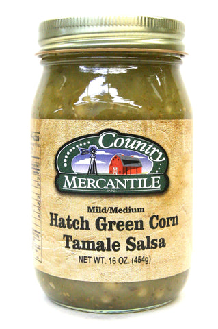 Country Mercantile Hatch Green Corn Tamale Salsa