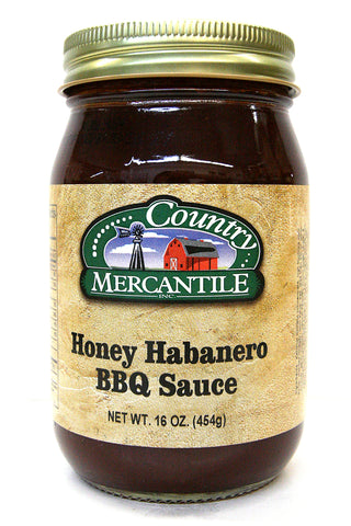 Country Mercantile Honey Habanero BBQ Sauce