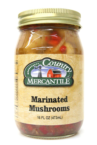 Country Mercantile Marinated Mushrooms