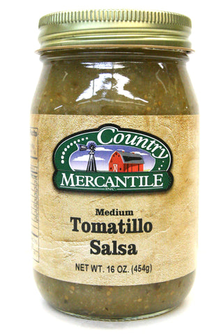 Country Mercantile Medium Tomatillo Salsa