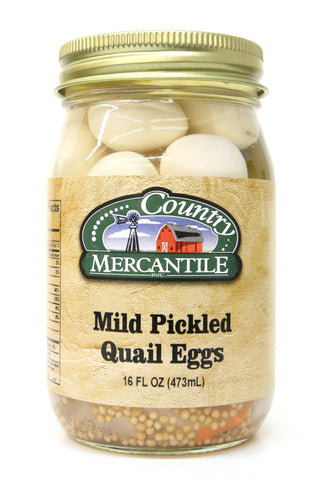 Country Mercantile Mild Pickled Quail Eggs