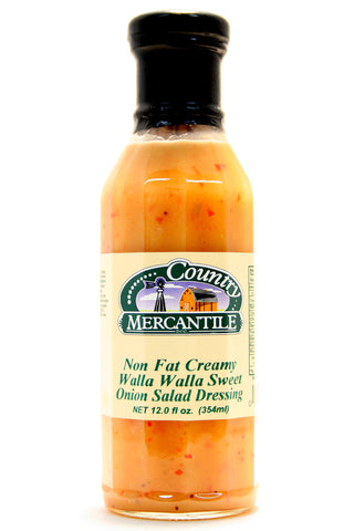 Country Mercantile Non-Fat Creamy Walla Walla Sweet Onion Salad Dressing