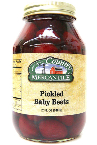 Country Mercantile Pickled Baby Beets 32 oz