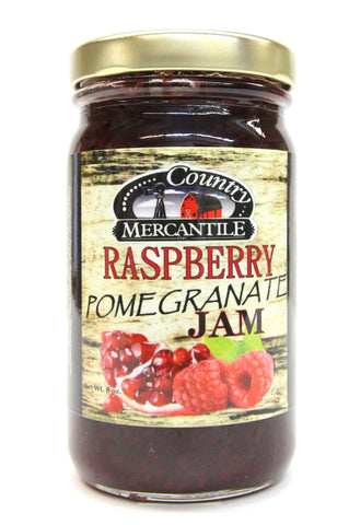 Country Mercantile Raspberry Pomegranate Jam
