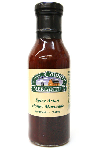Country Mercantile Spicy Asian Honey Marinade