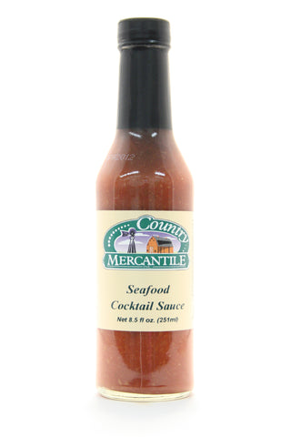 Country Mercantile Seafood Cocktail Sauce. Net Wt. 8.5 oz.
