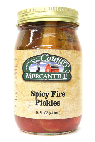 Country Mercantile Spicy Fire Pickles