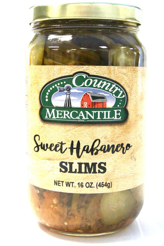Country Mercantile Sweet Habanero Slims