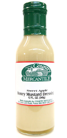 Country Mercantile Sweet Apple Honey Mustard Salad Dressing
