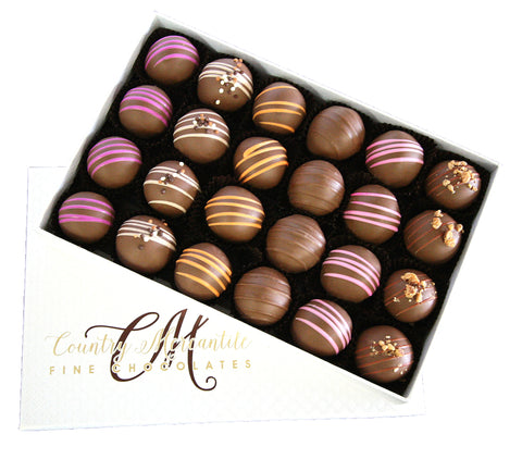 24 pc. Milk Chocolate Truffles Assortment Box