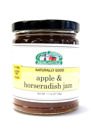 Country Mercantile Apple & Horseradish Jam