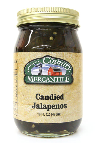Country Mercantile Candied Jalapeños 16 oz
