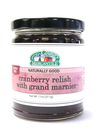 Country Mercantile Cranberry Relish with Grand Marnier