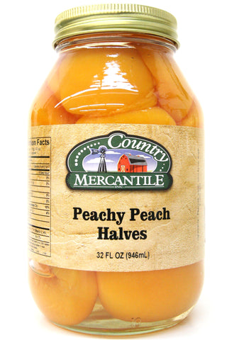Country Mercantile Peachy Peach Halves