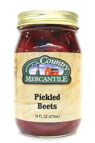 Country Mercantile Pickled Beets 16 oz