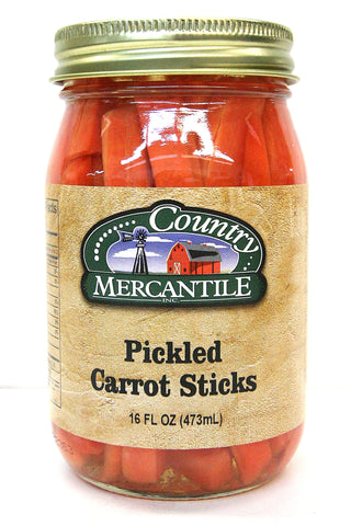 Country Mercantile Pickled Carrot Sticks