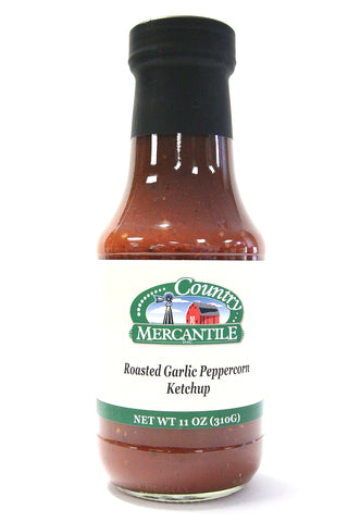 Country Mercantile Roasted Garlic Peppercorn Ketchup