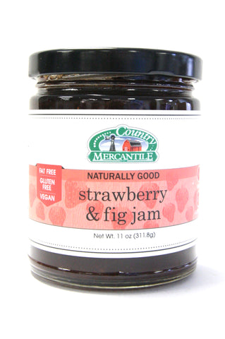 Country Mercantile Strawberry & Fig Jam