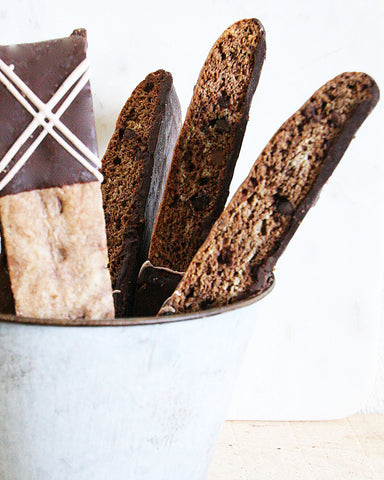 Chocolate Mocha Biscotti