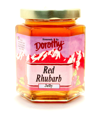 Dorothy's Red Rhubarb Jelly - Net Wt. 8.5 oz.