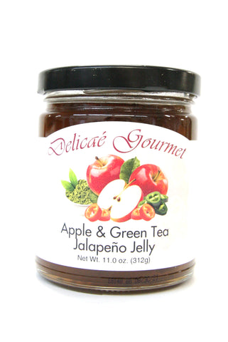 Delicae Gourmet Apple & Green Tea Jalapeño Jelly