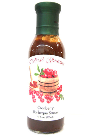Delicae Gourmet Cranberry Barbeque Sauce