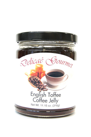 Delicae Gourmet English Toffee Coffee Jelly