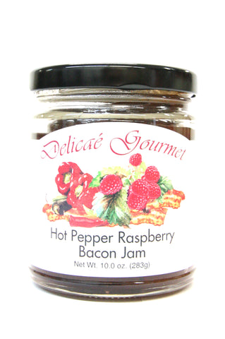Delicae Gourmet Hot Pepper Raspberry Bacon Jam