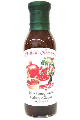Delicae Gourmet Spicy Pomegranate Barbeque Sauce