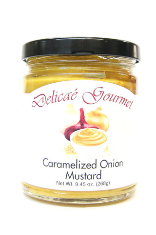 Delicae Gourmet Caramelized Onion Mustard