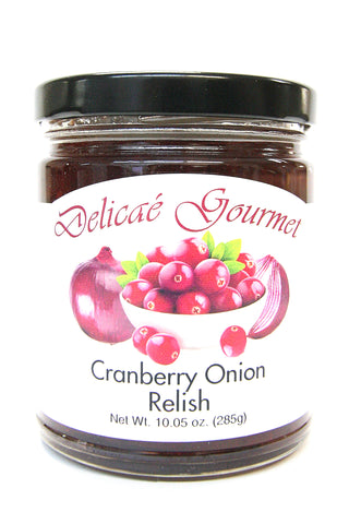 Delicae Gourmet Cranberry Onion Relish