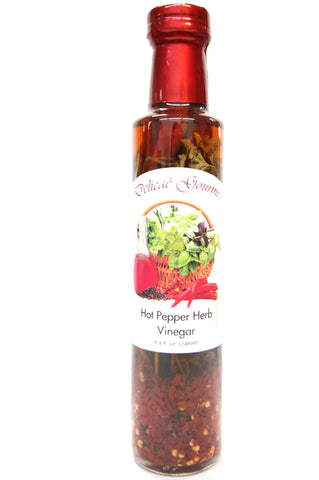 Delicae Gourmet Hot Pepper Herb Vinegar