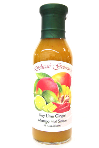 Delicae Gourmet Key Lime Ginger Mango Hot Sauce