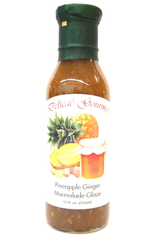 Delicae Gourmet Pineapple Ginger Marmalade Glaze
