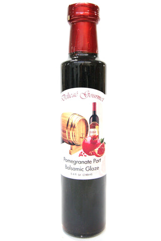 Delicae Gourmet Pomegranate Port Balsamic Glaze
