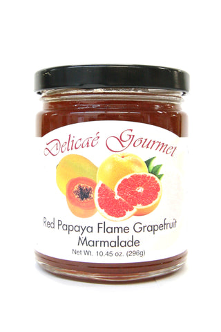Delicae Gourmet Red Papaya Flame Grapefruit Marmalade