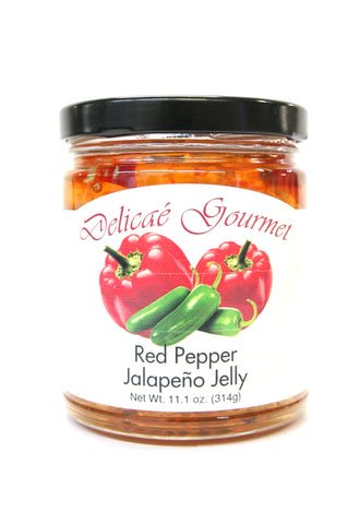 Delicae Gourmet Red Pepper Jalapeño Jelly